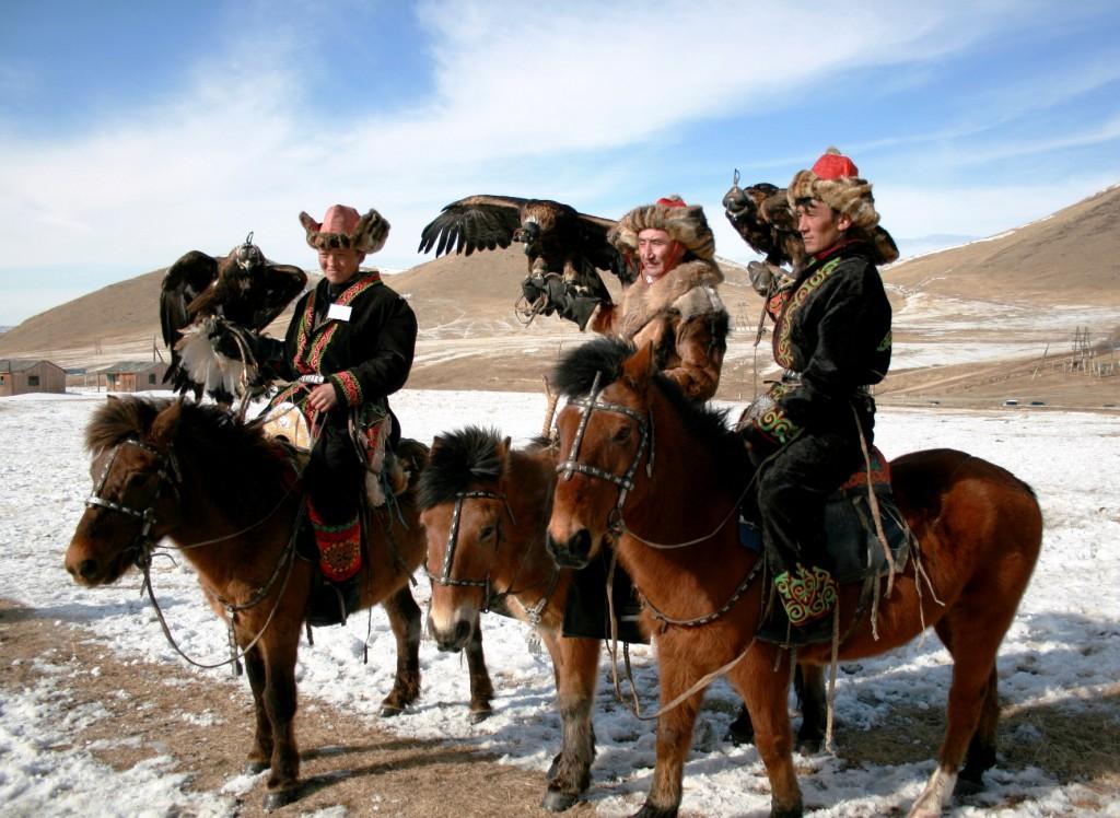 Khazak Eagle Hunters