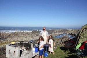 Camping in Storms River Sth Africa