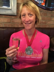 Post London Marathon 2015.