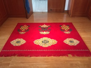 Our big rug from Erdenet- another favourite